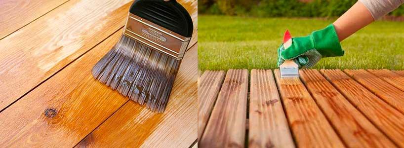 Por qué es importante tratar la madera