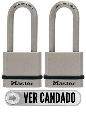 Candado Master Lock para cobertizos
