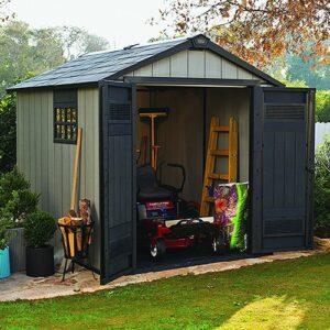 Caseta de jardín para almacenar