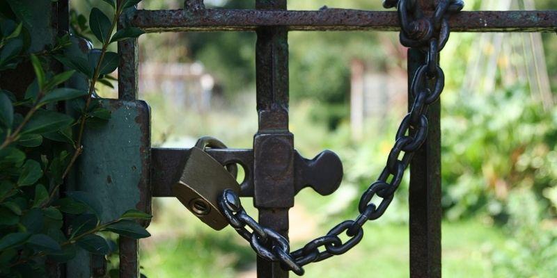 Cerraduras para tu caseta de jardín