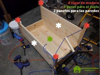 Paso 1: Cómo construir una casa de madera para gatos