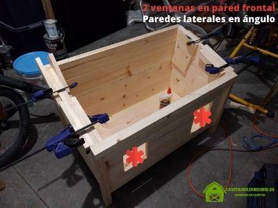 Paso 2: Cómo construir una casa de madera para gatos