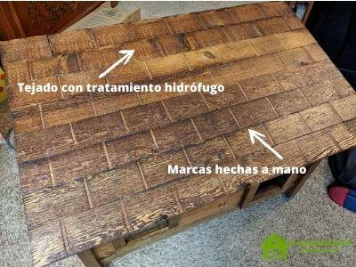 Paso 5: Cómo construir una casa de madera para gatos
