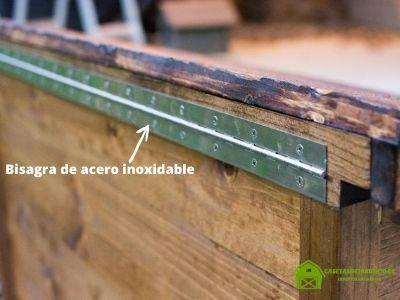 Paso 6: Cómo construir una casa de madera para gatos