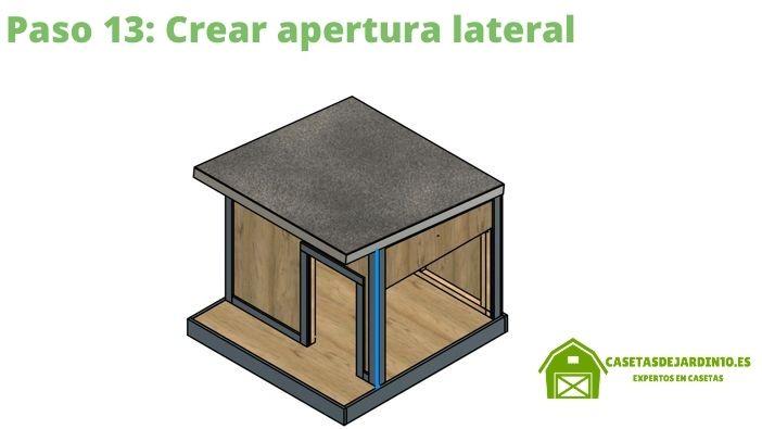 Cómo construir una caseta para perros paso 13