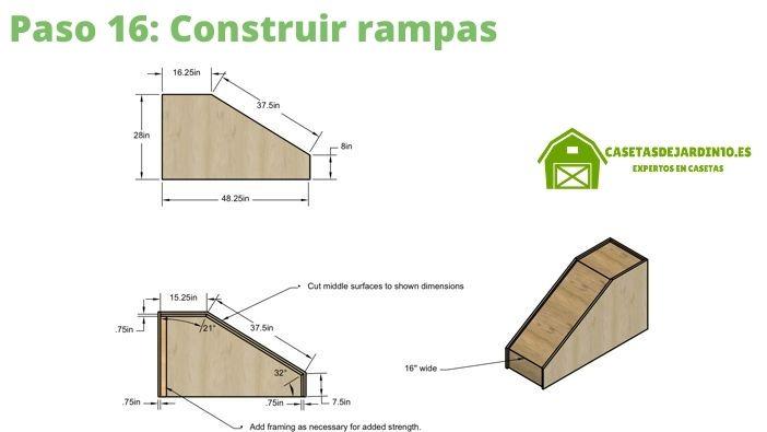 Cómo construir una caseta para perros paso 16
