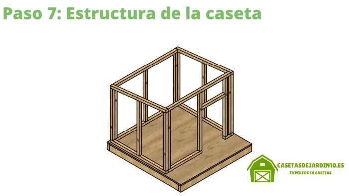 Como construir una caseta para perros paso 7