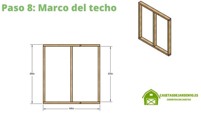 Como construir una caseta para perros paso 8