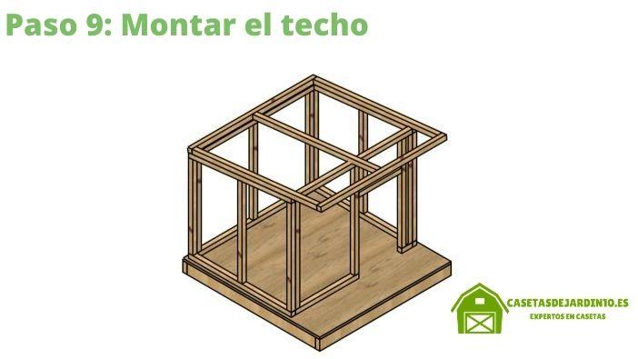 Como construir una caseta para perros paso 9