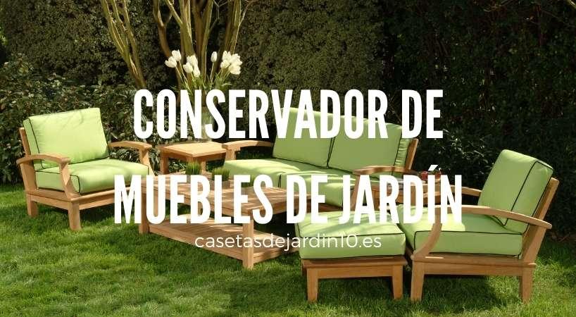 Conservador de muebles de jardín
