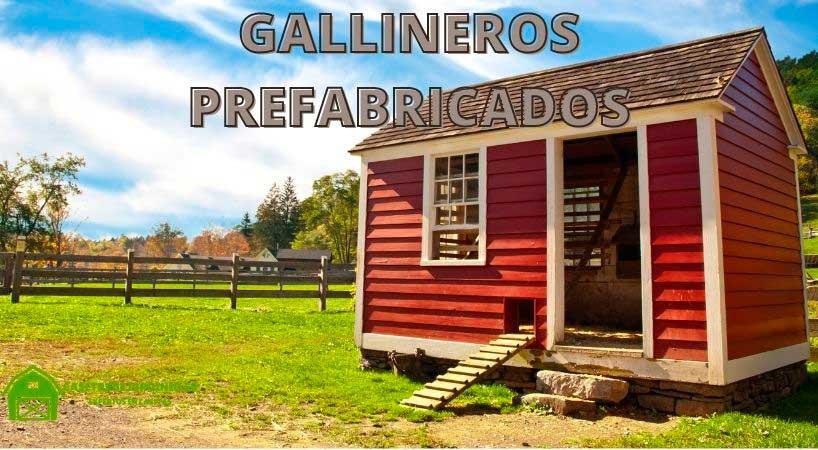 Gallineros prefabricados para tu jardín