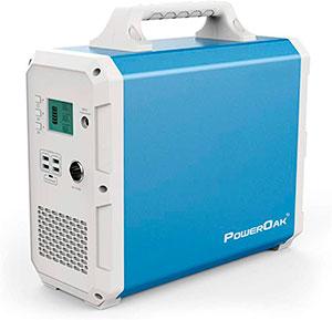 Generador solar portátil para casetas de jardín PowerOak Bluetti EB150 1500Wh