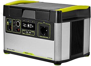 Generados solar portátil Goal Zero Yeti 1500X