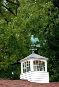 Iluminar caseta de jardín con cúpula