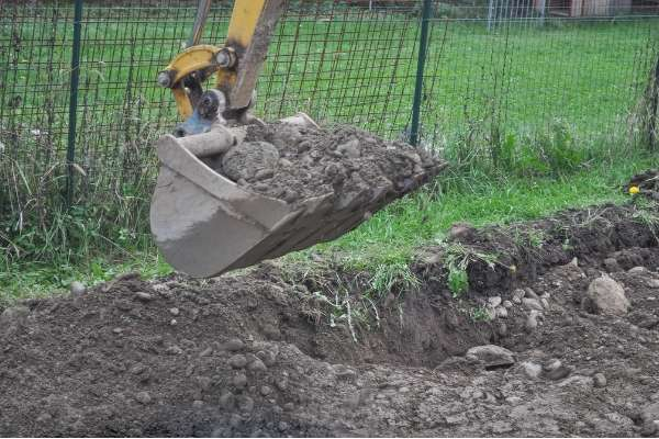 Terreno excavado